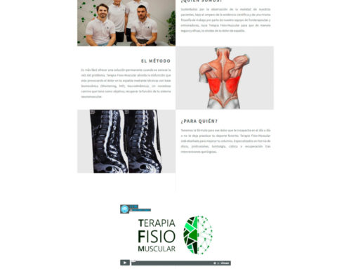 Terapia fisio muscular